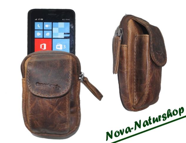 nova top g rteltasche aus leder ideale smartphonetasche. Black Bedroom Furniture Sets. Home Design Ideas